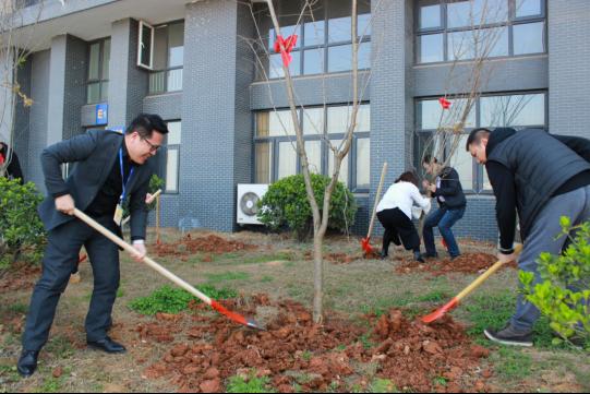 一号车市环保樱花林再添新,多方携手共建园区可持续发展-车神网