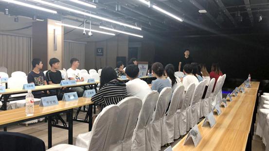 中嘉博众集团与沈阳理工大学校企班学生实训大会