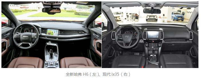 十万级SUV怎么选?全新哈弗H6碾压ix35不是吹!